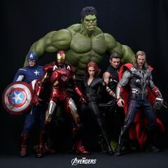 The Avengers action figures | Marvel Movies | Fandom