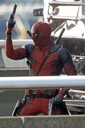 Deadpool Filming 29