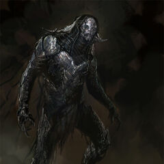 Concept art of Kurse from <i>Thor: The Dark World</i>.
