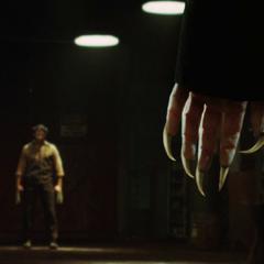 Logan confronts Victor for killing Kayla