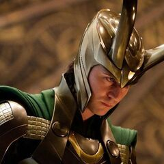 Loki as King.