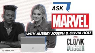 Aubrey Joseph & Olivia Holt answer YOUR Marvel's Cloak & Dagger questions! Ask Marvel