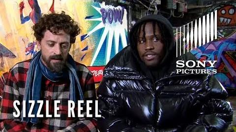 SPIDER-MAN INTO THE SPIDER-VERSE Sizzle Reel - Paris & London Comic Con