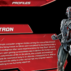 Short biography of Ultron's origins.