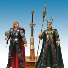 Marvel Select Thor & Loki