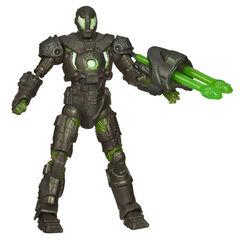 Titanium Man<br />includes a snap-on double-concussion blaster