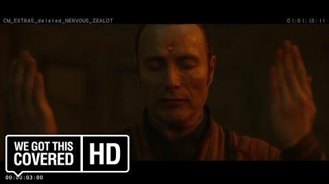 "Doctor Strange ""Nervous Zealot"" Deleted Scene HD Benedict Cumberbatch, Mads Mikkelsen"