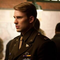 Steve Rogers in uniform.