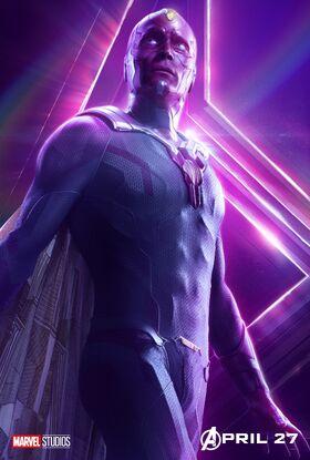 Vision InfinityWar poster