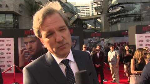 Marvel's Ant-Man Martin Donovan Red Carpet Movie Premiere Interview