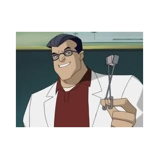 Hank as a high school chemistry teacher, before his mutation.