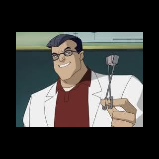 Hank as a high school chemistry teacher, before his mutation.