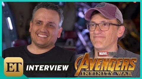 'Avengers Infinity War' Joe and Anthony Russo (FULL INTERVIEW)