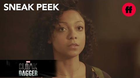 "Marvel's Cloak & Dagger Season 1 Finale Sneak Peek Evita Explains ""The Divine Pairing"" Freeform"