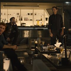 The Avenger Team with James Rhodes at <a href=