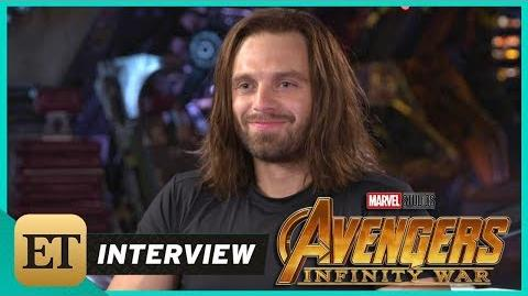 'Avengers Infinity War' Sebastian Stan (FULL INTERVIEW)