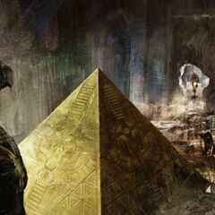 Concept art of a Pyramid