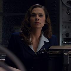 Agent Carter at her desk