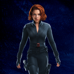 Promotional Russian Poster featuring Black Widow.