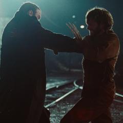 Logan fighting Victor for revenge