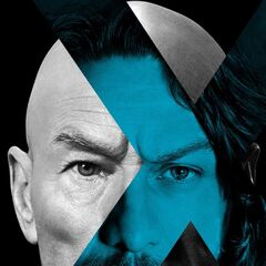 Teaser poster of young and old Professor X.