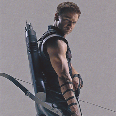 Hawkeye promo card.