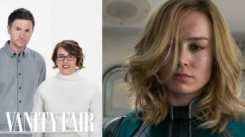 Captain Marvel's Directors Break Down the Train Fight Scene Vanity Fair