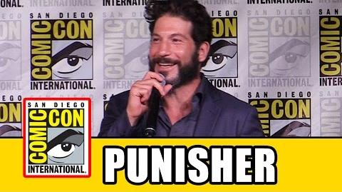 PUNISHER Surprise Appearance At LUKE CAGE Comic Con 2016 Panel