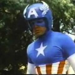 Captain America in his second costume