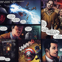 Howard Stark in <i>Captain America: First Vengeance</i>.