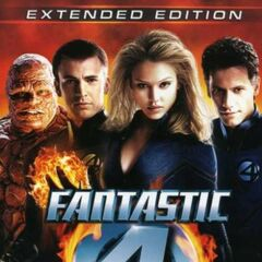 Fantastic 4 Extended Edition DVD