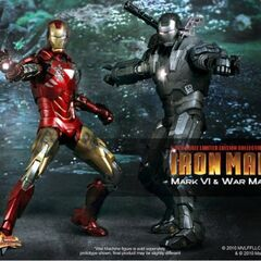 Hot Toys War Machine and Iron Man (Mark VI)
