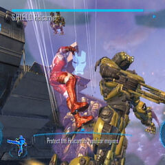 Iron Man on the S.H.I.E.L.D. Helicarrier