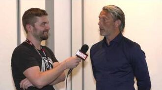 Mads Mikkelsen from Marvel's Doctor Strange on Marvel LIVE from San Diego Comic-Con 2016