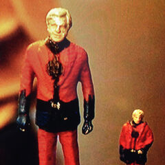 Miniature of Michael Douglas as Ant-Man, used for the concept of the film.
