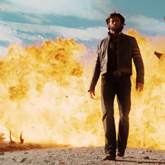 Logan causes Agent Zero's death
