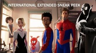 SPIDER-MAN INTO THE SPIDER-VERSE - Int'l Extended Sneak Peek - At Cinemas Now