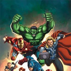 Avengers prequel comic cover.