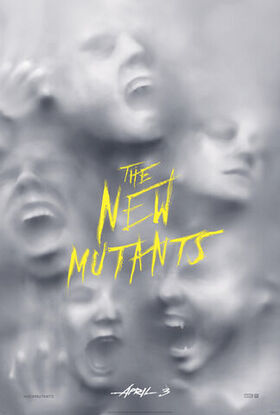 New Mutants teaser poster with new release date
