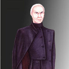 Concept art for Magneto in <i>X-Men</i>.