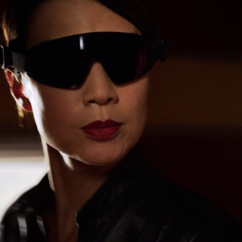 May wearing the IR Goggles