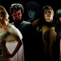 The heroes and villains of <i>X-Men: First Class</i>