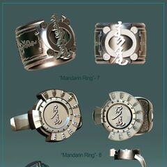 Mandarin Ring 7 and 8