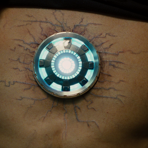 Tony Stark suffering effects of Palladium poisoning