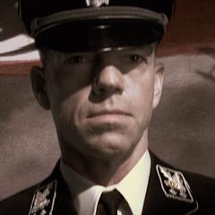 Schmidt as an SS Obergruppenführer