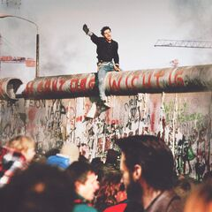 <b>1988: BERLIN WALL PROTESTS.</b><br /> <i>Germany is the first nation to adopt mutant segregation policies</i>.<br /> A few renegade mutants knock down a mile-long section of the Berlin wall in an act of protest, killing 23 people and injuring over 200. The protest alarmed citizens of West Germany, sparking anti-mutant policies. The Berlin Wall stands today and East Germany has been designated as a mutant zone.