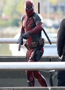 Deadpool Filming 13