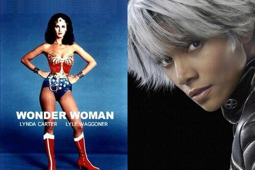 Wonder Woman Vs. Storm