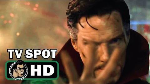 DOCTOR STRANGE TV Spot 12 - Reversed (2016) Benedict Cumberbatch Marvel Movie HD