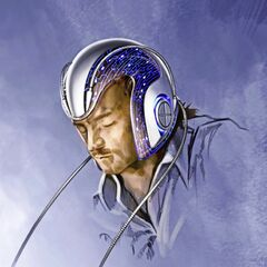 Concept art of Charles Xavier using Cerebro